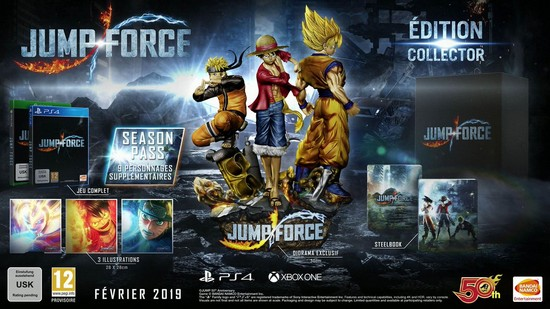 [ACTU] Jump Force en collector Jumpforce