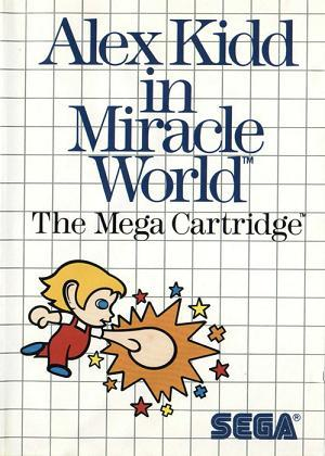 Retro Test : Alex Kidd ine Miracle World