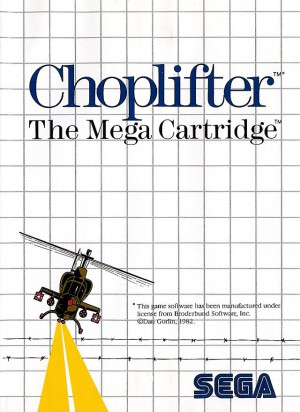[RETRO TEST] Choplifter
