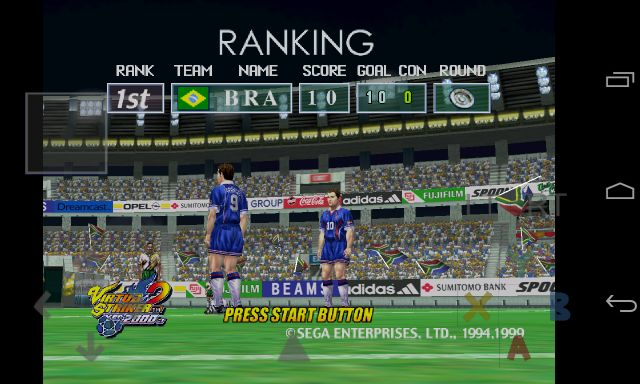[RETRO TEST] Virtua Striker 2