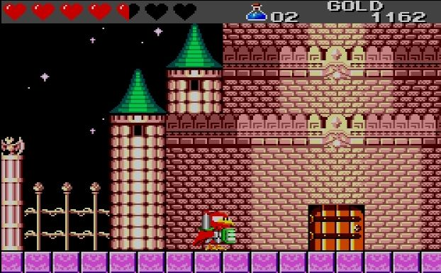 [RETRO TEST] Wonder Boy III : The Dragon's Trap